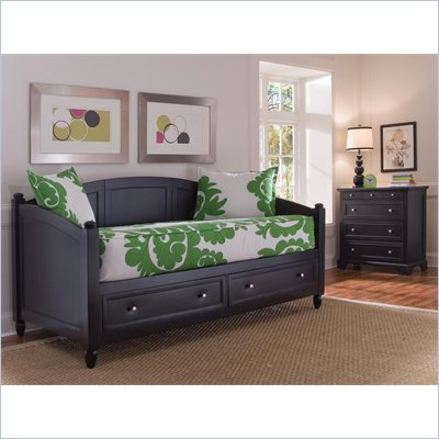 Home Styles Bedford Storage Wodd Daybed &amp; Chest Set