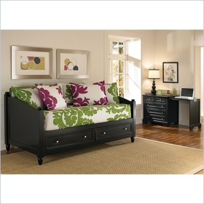 Home Styles Bedford Storage Daybed &amp; Expan-Desk 