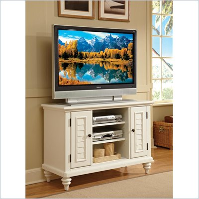 Home Styles Bermuda White TV Stand