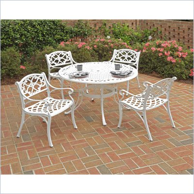 "Home Styles Biscayne 5PC 42"" Dining Table Set"