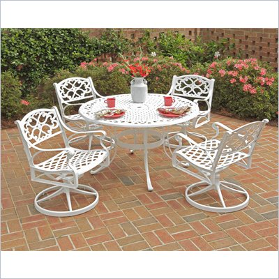 Home Styles Biscayne 5PC 48&quot; Dining Table Set