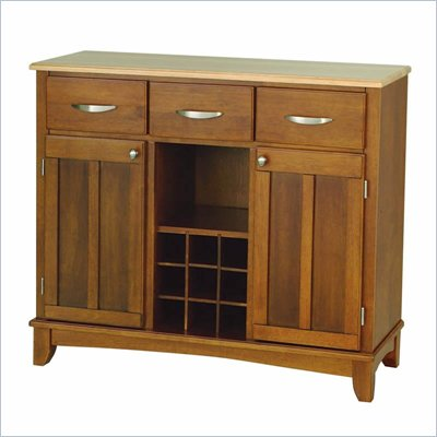 Home Styles Large Cottage Oak Buffet Kitchen Island