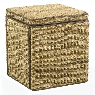 Home Styles Cabana Banana Small Storage Cube in Honey Finish