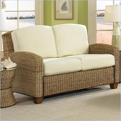 Home Styles Furniture Cabana Banana Loveseat In Honey Finish