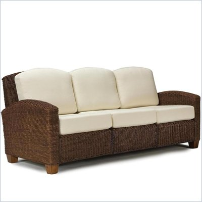 Home Styles Cabana Banana 3 Section Sofa in Cocoa