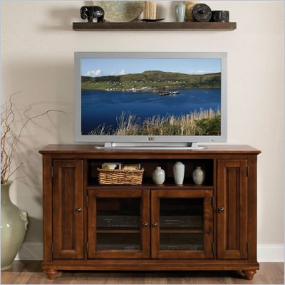 Home Styles Chesapeake Wood LCD/Plasma TV Stand in Cherry