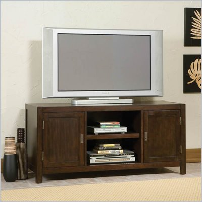Home Styles City Chic Wood TV Stand in Espresso