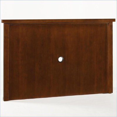 Home Styles Furniture Hanover Back Panel for Entertainment Center in Cherry Finish