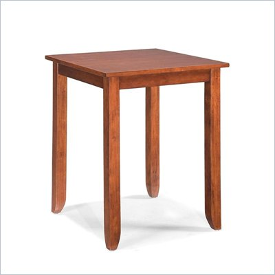 Home Styles Hanover Square Bistro Table in Cherry