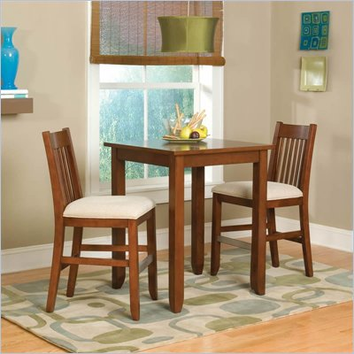 Home Styles Furniture Hanover Cherry 3 PC Bistro Set