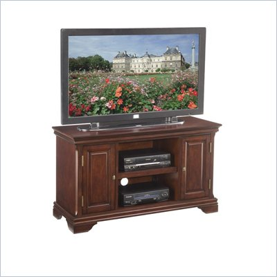 Home Styles Lafayette Wood TV Stand in Cherry