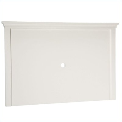 Home Styles Naples Back Panel in White