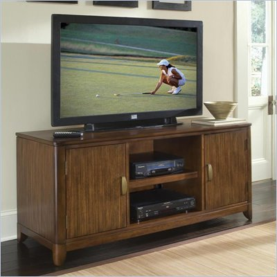 Home Styles Paris TV Stand in Walnut Finish