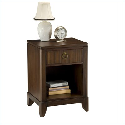 Home Styles Paris Night Stand in Mahogany 