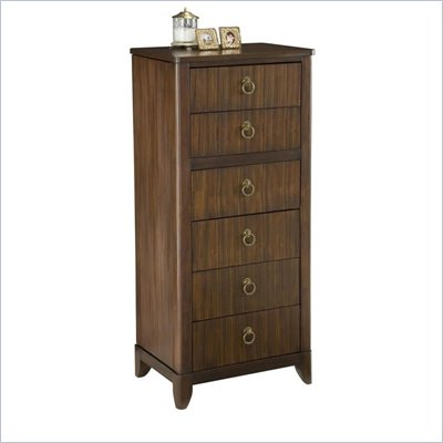 Home Styles Paris Lingerie/Jewellery Chest in Mahogany