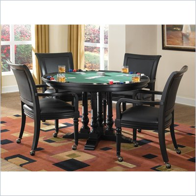 Home Styles St. Croix 5 Piece Game Table Set