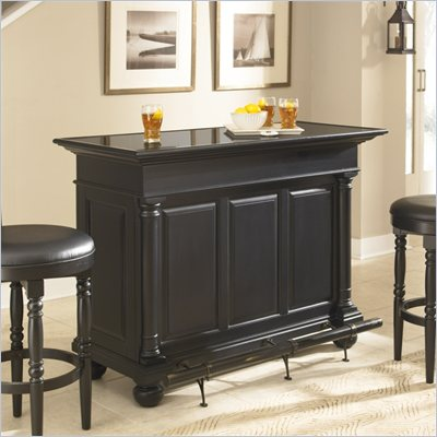 Home Styles St. Croix Home Bar in Black Finish
