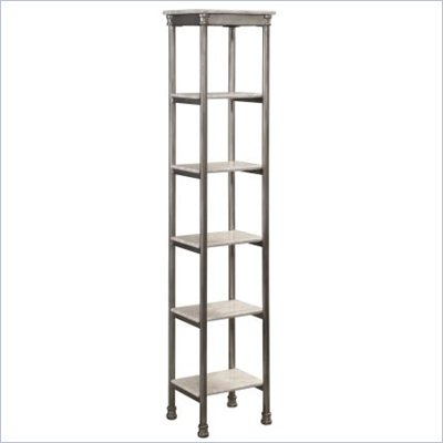 Home Styles The Orleans Six Tier Tower in Gray and Marble