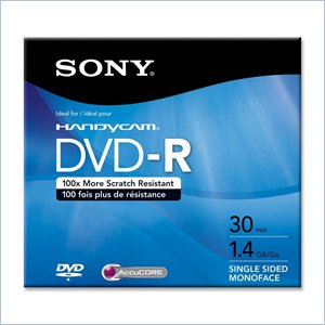 Sony DVD-R Media