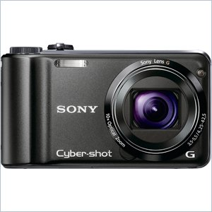 Sony Cyber-shot DSC-HX5V Compact Camera - Black
