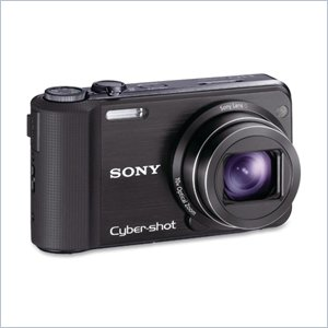 Sony Cyber-shot DSC-HX7V Compact Camera - Black