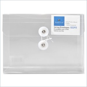 Sparco String-A-Long Poly-Hide Envelope