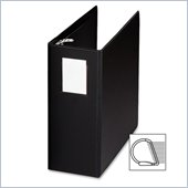 Sparco Slanted Ring Binder with Label Holder
