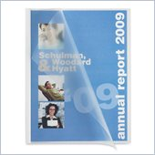 Sparco Slide Bind Transparent Report Covers