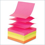 Sparco Pop-up Adhesive Fanfold Note Pad