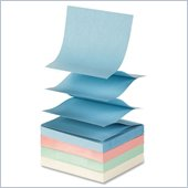 Sparco Pop-up Pastel Adhesive Fanfold Note Pad