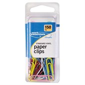 Swingline Standard Vinyl Coated Paper Clips