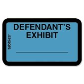 Tabbies Legal Defendant's Exhibit Label