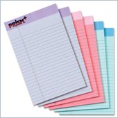 Tops Prism Plus Chipboard Back Legal Pad