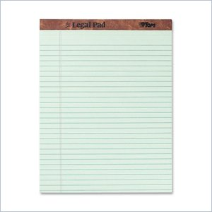 Tops Perforated Traditional Grade Writing Pad
