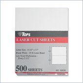 Tops Laser Cut Sheet Paper