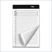Tops Project Planning pad with Numbered Ruled