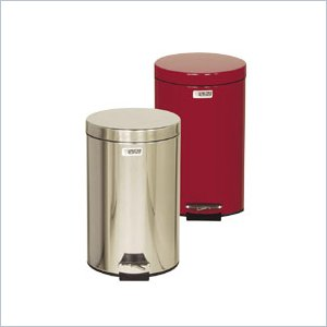 United Receptacle Medi-Can Steel Step Trash Can