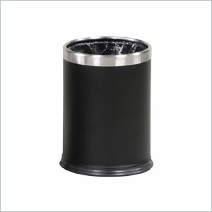 United Receptacle WHB14E Hide-A-Bag Wastebasket