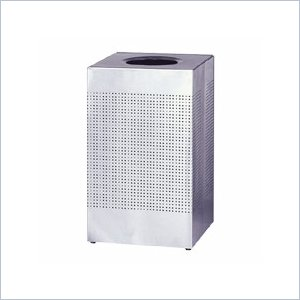 United Receptacle Designer Line Silhouette Open Top Receptacle