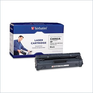 Verbatim HP C4092A Compatible Toner Cartridge (1100&quot; 3200)