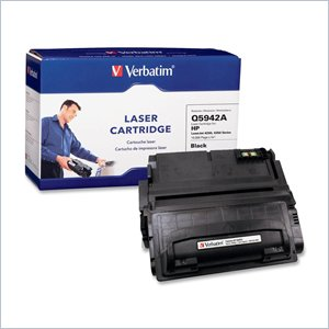 Verbatim HP Q5942A Compatible Toner Cartridge (4250&quot; 4350)