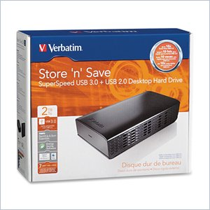 Verbatim Store 'n' Save Desktop Hard Drive