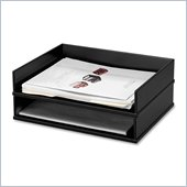 Victor Midnigt Black Letter Desk Tray