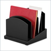 Victor Midnight Black Incline File Sorter