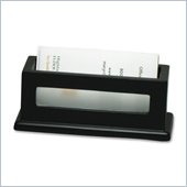 Victor Midnight Black Business Card Holder