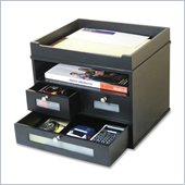 Victor Midnigt Black Tidy Tower Organizer