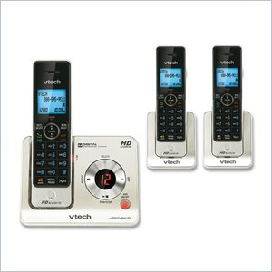 Vtech LS6425-3 Cordless Phone with Answering Machine