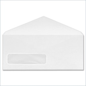 Quality Park POLY-KLEAR Single Window Envelope