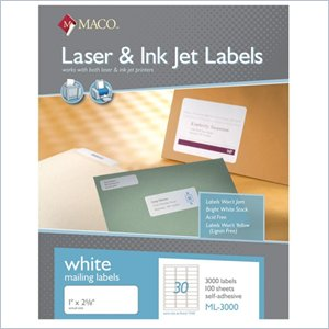 Maco Address Label