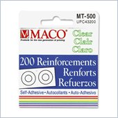 Maco Self-Adhesive Reinforcement Label